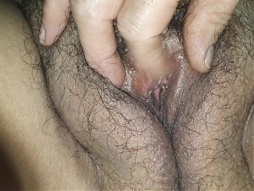 Close-up of wife