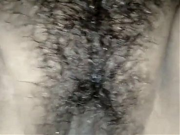 Indian big hairy juicy pussy in Action