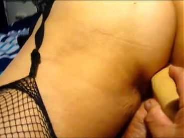 Pammy working her big ass with her dildo to climax